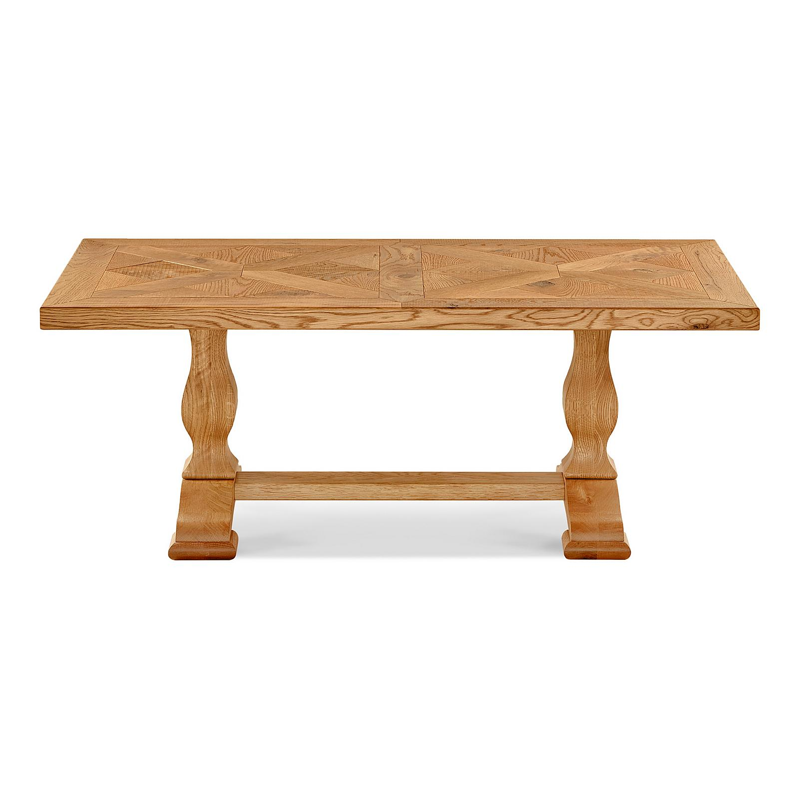 Marriott Natural Rustic Oak Coffee Table Vale Furnishers