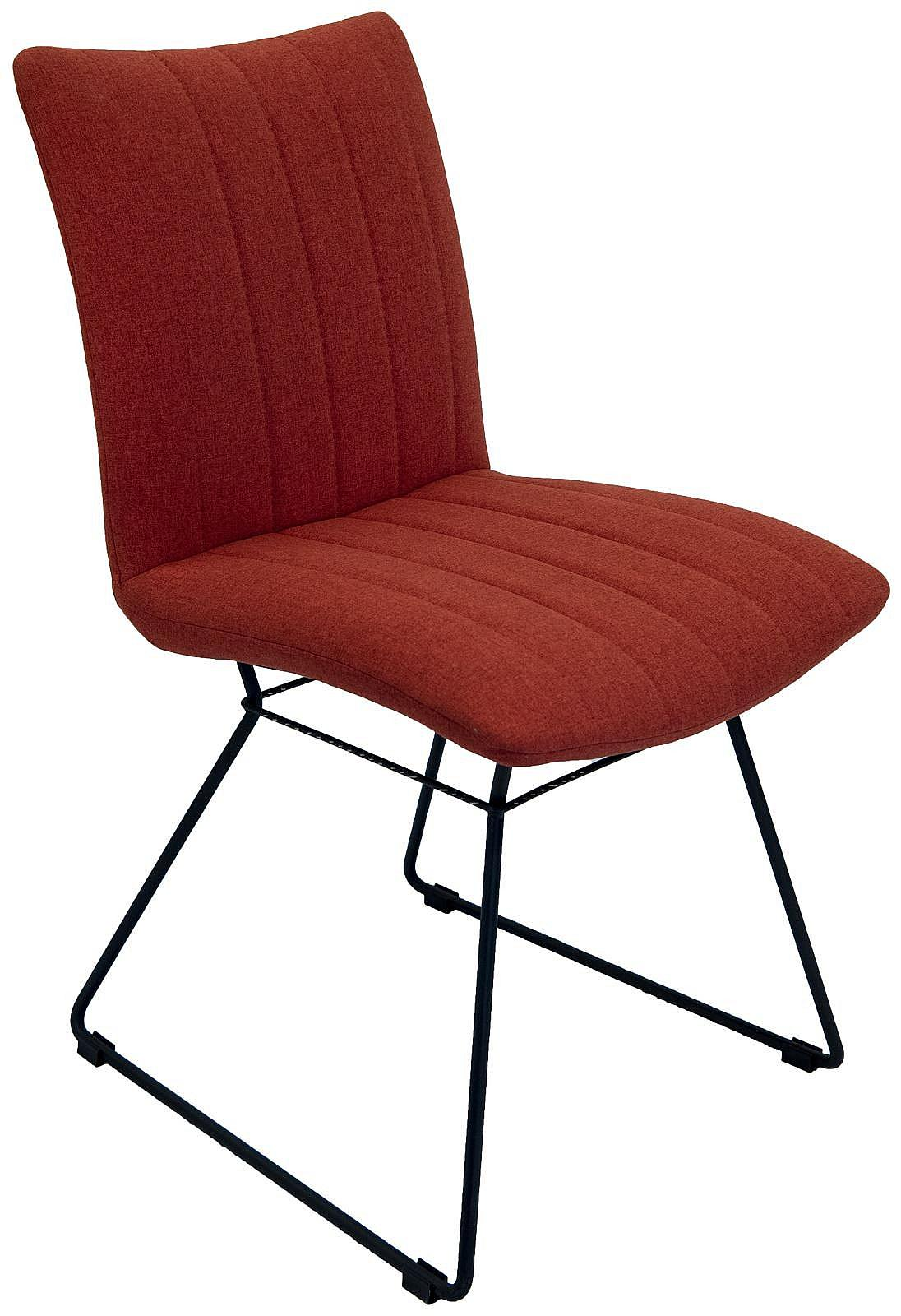 Picture of: Acadia Dining Chair Burnt Orange Vale Furnishers
