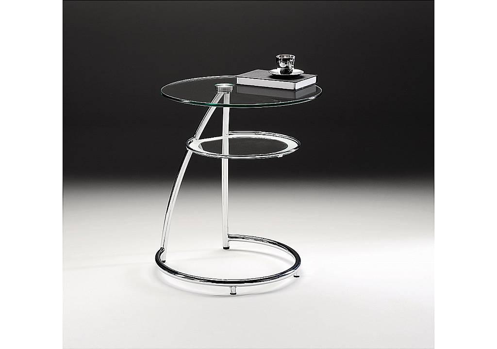 Vale Furnishers Hoop Lamp Table Black