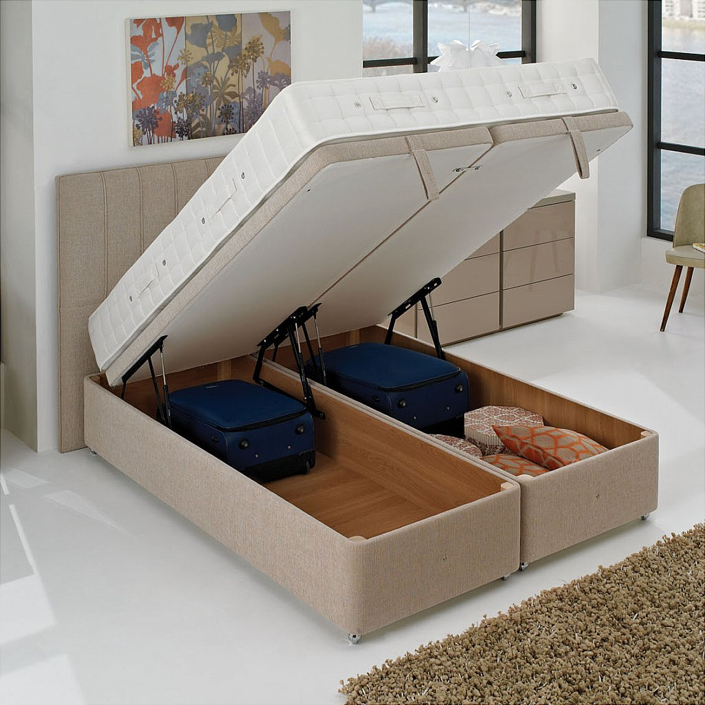 Furniture including storage for a clutter free home