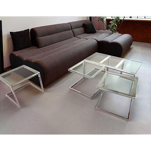 Kensington glass coffee tables