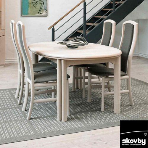 skovby extending dining tables