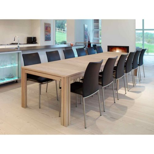Skovby furniture offers include extending dining tables