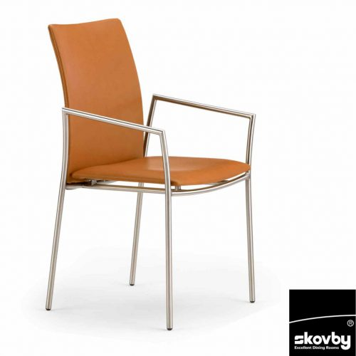 Skovby furniture - orange chair