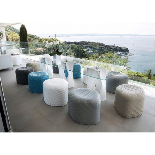 Tonon riverstone dining table