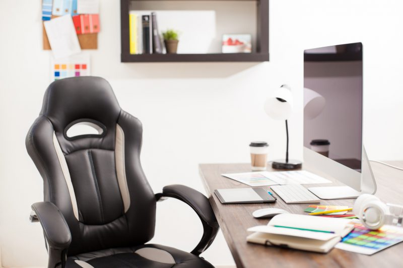 office work space chair