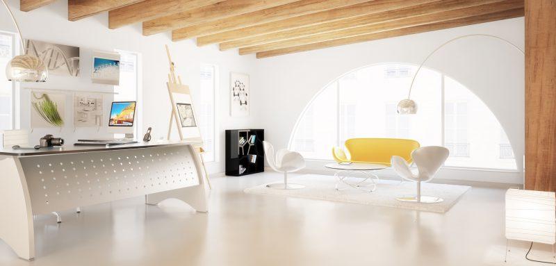 Contemporary Studio Design (panoramic)