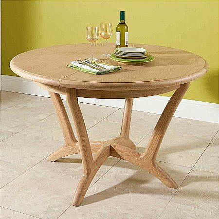 Carlson-Round-Extending-Dining-Table