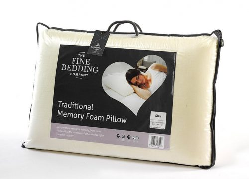 The Fine Bedding Co - Traditional Memory Foam Pillow