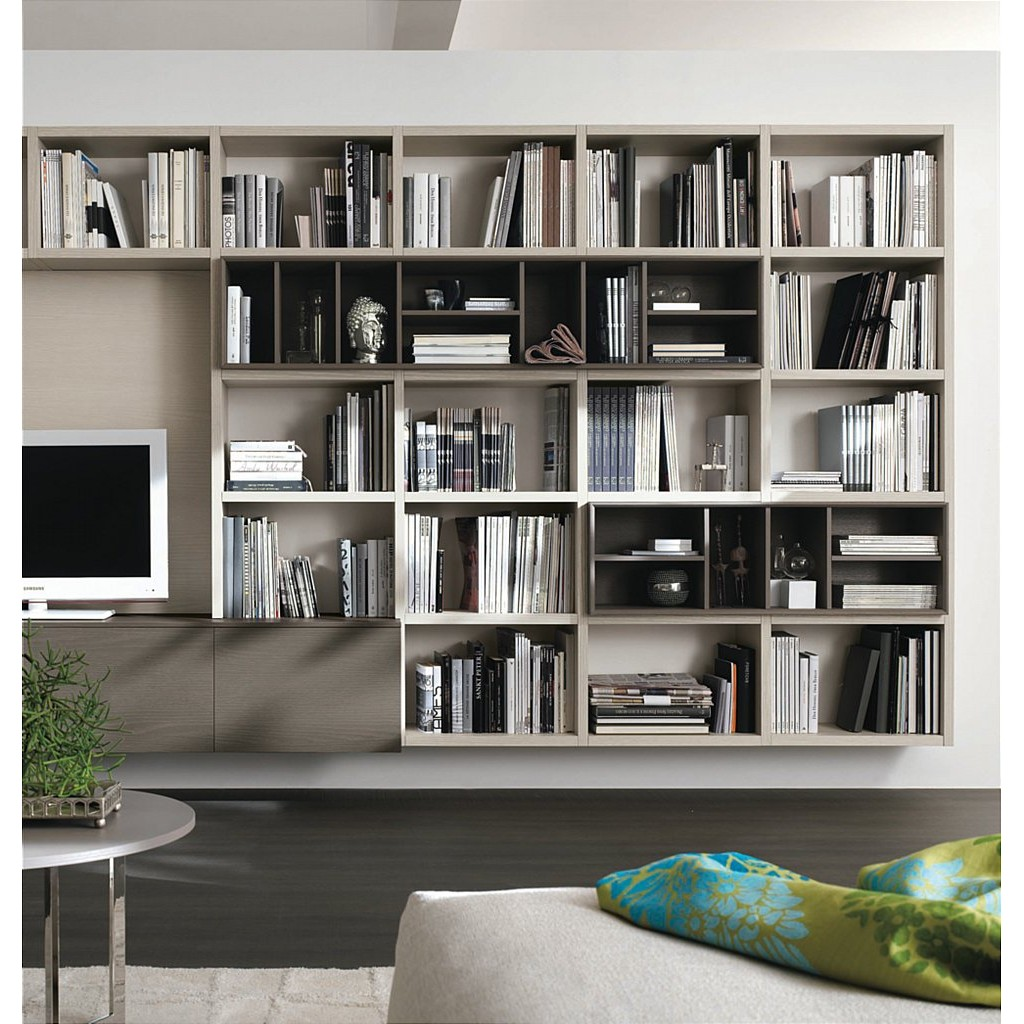 Home Inspiration: 7 Clever Home Office Storage Furniture Ideas -