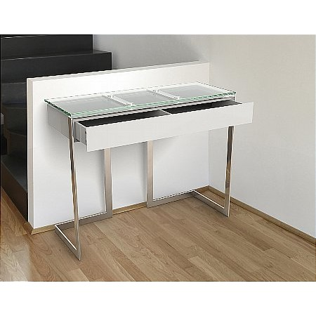 Vale Furnishers - Kensington Console Table With Drawer