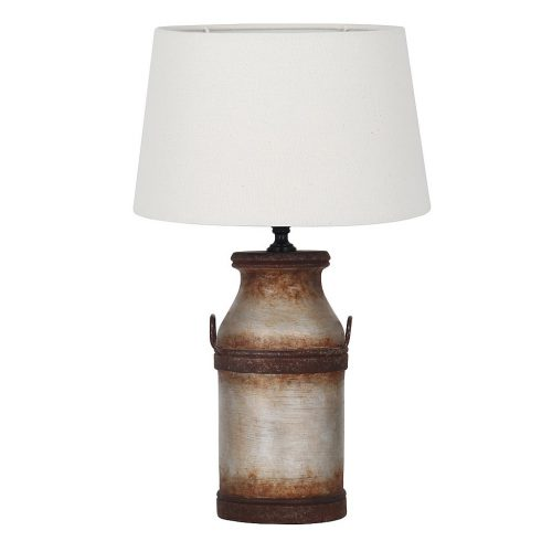 Vale Furnishers - Stoneware Milk Churn Table Lamp