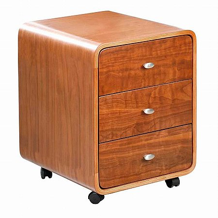 Vale Furnishers - Swerve CC201 3 Drawer Pedestal