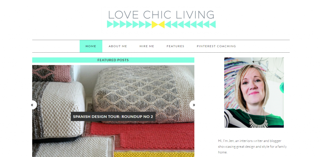 interior design blogs - www.lovechicliving.co.uk