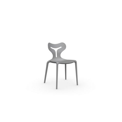 Calligaris - Area51 Dining Chair In P956 Grey