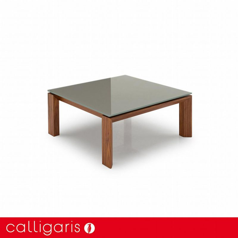 Calligaris - Omnia Glass Square Coffee Table