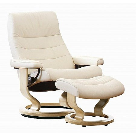 Stressless - Opal Recliner and Footstool