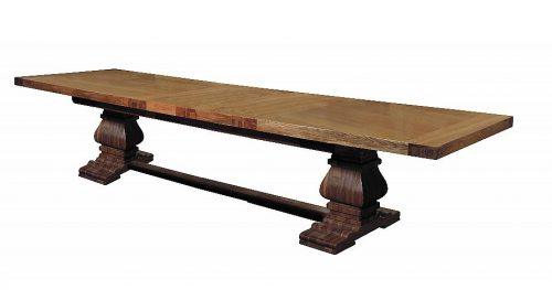 Abbey Monastery Extending-Dining Table