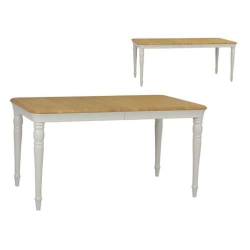 Oliver Painted Extending Dining Table by Vale Furnishers