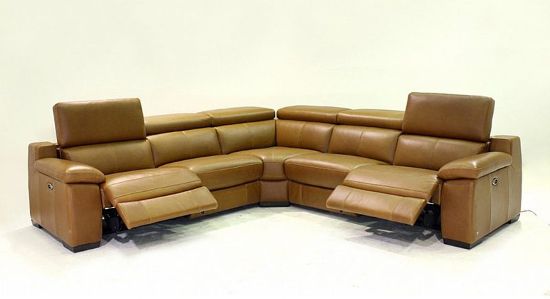 Leather Corner Sofas - Utah Modular Sofa by Vale Furnishers